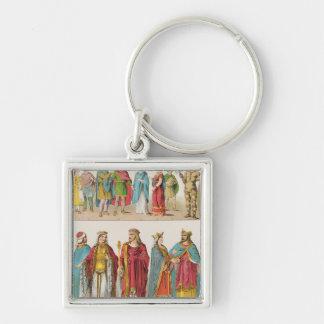 Frankish Dress Keychain