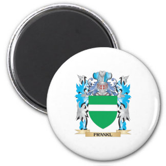 Frankl Coat of Arms - Family Crest Refrigerator Magnets