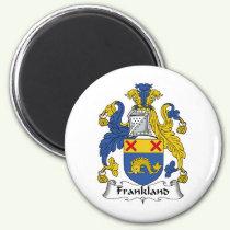 Frankland Family Crest Magnet