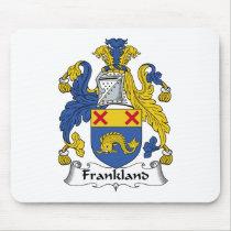 Frankland Family Crest Mousepad