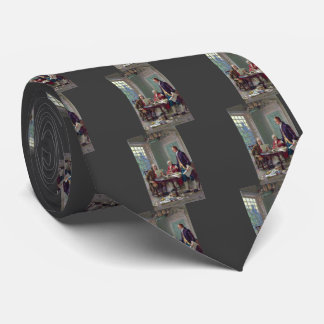 Franklin, Adams and Jefferson In Philadelphia 1776 Neck Tie