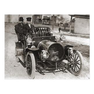 "Franklin ""Air Cooled"" in Tacoma WA circa 1910 Postcard"