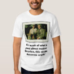 Franklin and Eleanor Roosevelt, For much of wha... T-Shirt