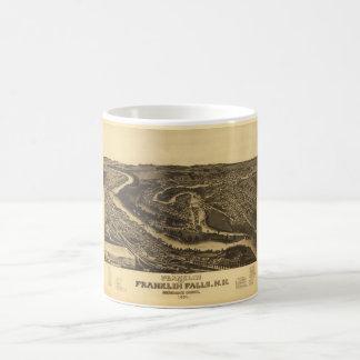 Franklin and Franklin Falls, New Hampshire (1884) Coffee Mug