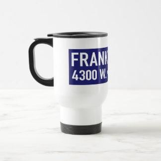 Franklin Avenue, Los Angeles, CA Street Sign Travel Mug