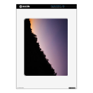 Franklin Canyon Park Twilight Decals For The iPad