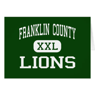Franklin County - Lions - High - Carnesville Cards