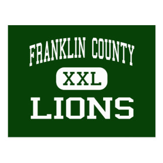 Franklin County - Lions - High - Carnesville Postcard