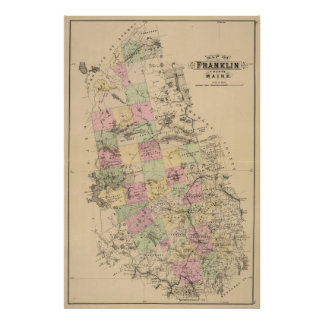 Franklin County, Maine Poster