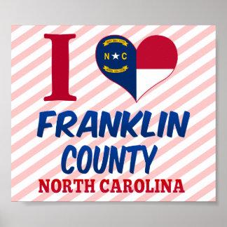 Franklin County, North Carolina Posters
