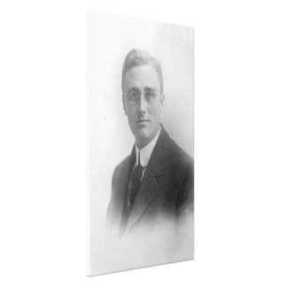 FRANKLIN D. ROOSEVELT 1907 National Archives Photo Canvas Print