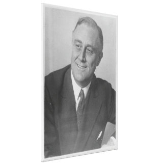FRANKLIN D. ROOSEVELT 1924 National Archives Photo Canvas Print