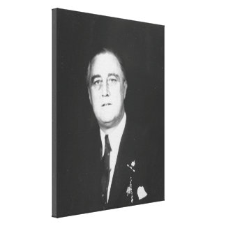 FRANKLIN D. ROOSEVELT 1932 National Archives Photo Canvas Print