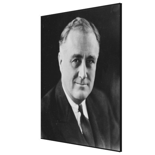 FRANKLIN D. ROOSEVELT 1933 National Archives Photo Canvas Print