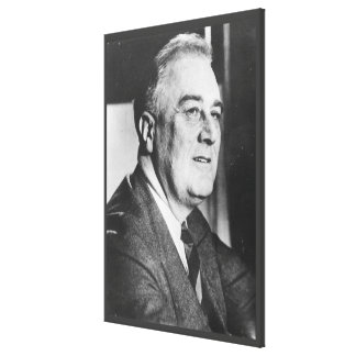 FRANKLIN D. ROOSEVELT 1940 National Archives Photo Canvas Print