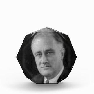 Franklin D Roosevelt Acrylic Award