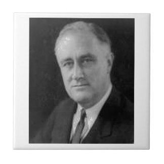 Franklin D Roosevelt Ceramic Tile