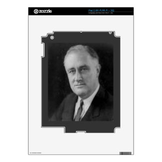 Franklin D Roosevelt Decals For iPad 2