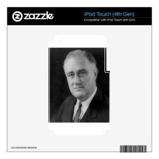 Franklin D Roosevelt Decals For iPod Touch 4G