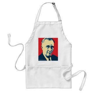Franklin D. Roosevelt - depresión: Delantal de OHP