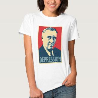 Franklin D. Roosevelt - Depression: OHP Ladies Top T-shirts