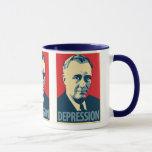 Franklin D. Roosevelt - Depression: OHP Mug