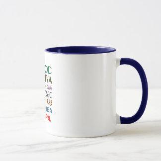 Franklin D. Roosevelt FDR New Deal Anniversary Mug