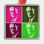Franklin D. Roosevelt Metal Ornament