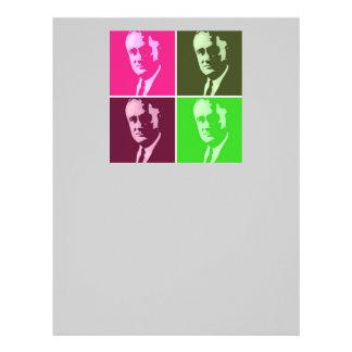 Franklin D. Roosevelt Plantilla De Membrete