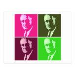 Franklin D. Roosevelt Postcard