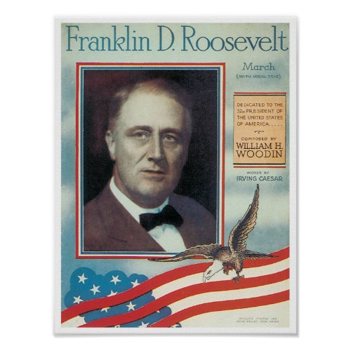 Franklin D. Roosevelt poster