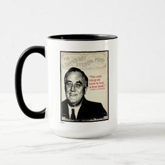Franklin D. Roosevelt Quote Mug