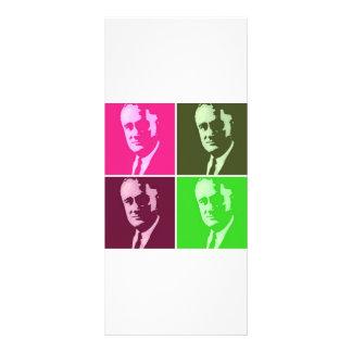 Franklin D. Roosevelt Rack Card