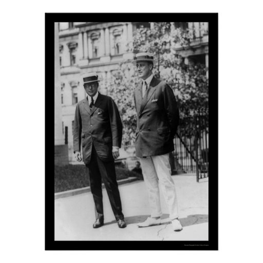 Franklin D. Roosevelt with Gov. James Cox 1920 Posters