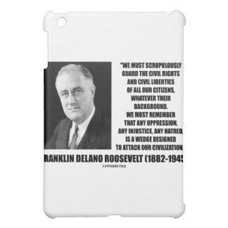 Franklin Delano Roosevelt Civil Rights Liberties iPad Mini Covers