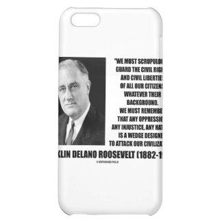 Franklin Delano Roosevelt Civil Rights Liberties iPhone 5C Case