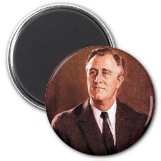 Franklin Delano Roosevelt Customizable Products 2 Inch Round Magnet