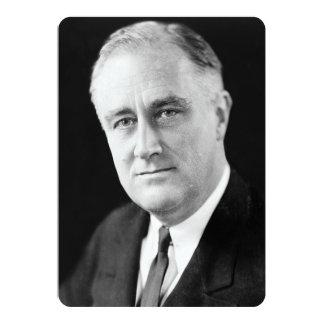Franklin Delano Roosevelt Invite