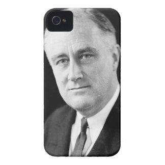 Franklin Delano Roosevelt iPhone 4 Case-Mate Case