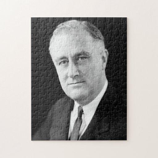 Franklin Delano Roosevelt Jigsaw Puzzle