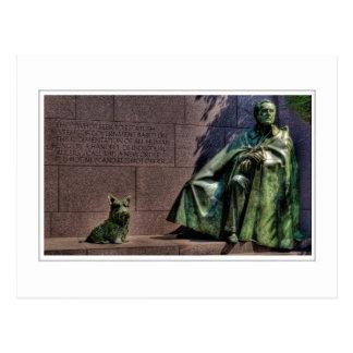 Franklin Delano Roosevelt Memorial Postcard