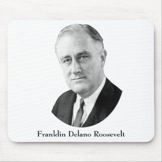Franklin Delano Roosevelt Mouse Pad