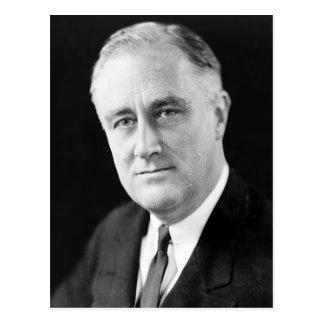 Franklin Delano Roosevelt Postcard