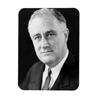 Franklin Delano Roosevelt Rectangular Photo Magnet