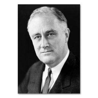 Franklin Delano Roosevelt Table Card