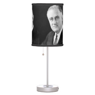 Franklin Delano Roosevelt Table Lamp