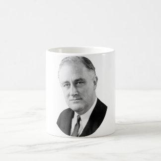 Franklin Delano Roosevelt Tazas