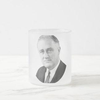 Franklin Delano Roosevelt Taza De Cristal