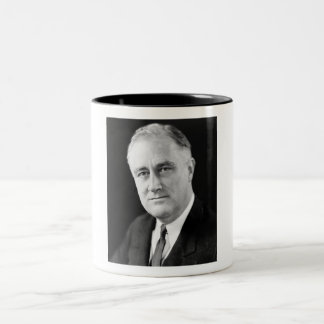 Franklin Delano Roosevelt Two-Tone Coffee Mug