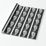 Franklin Delano Roosevelt Wrapping Paper